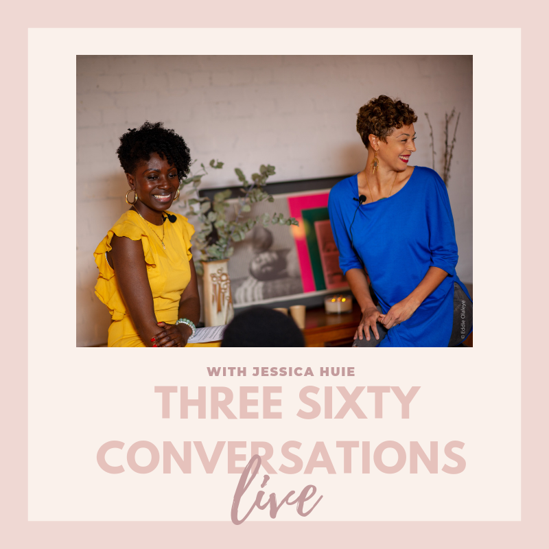 Three sixty, Jessica Huie mbe, purpose, soulful business, hay house
