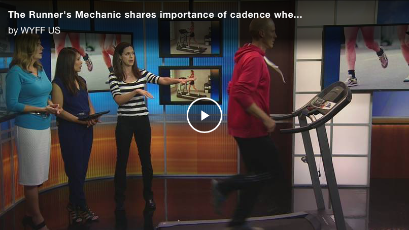 The Runner's Mechanic shares importance of cadence when running