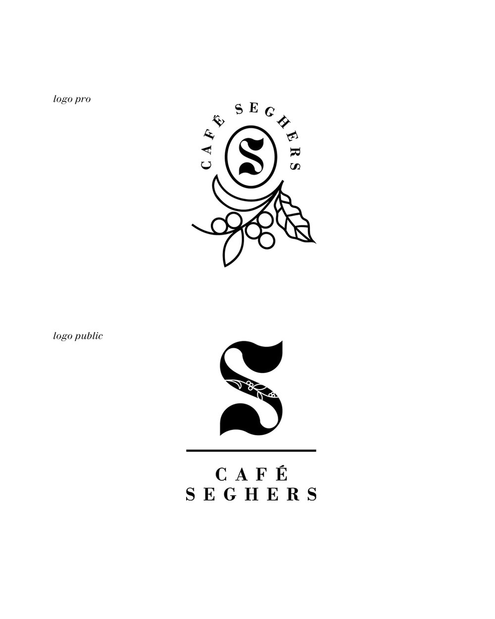 Café Seghers, Le Havre, France / coffee roaster