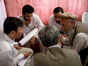 NVC Training workshop, Kabul, August 2007