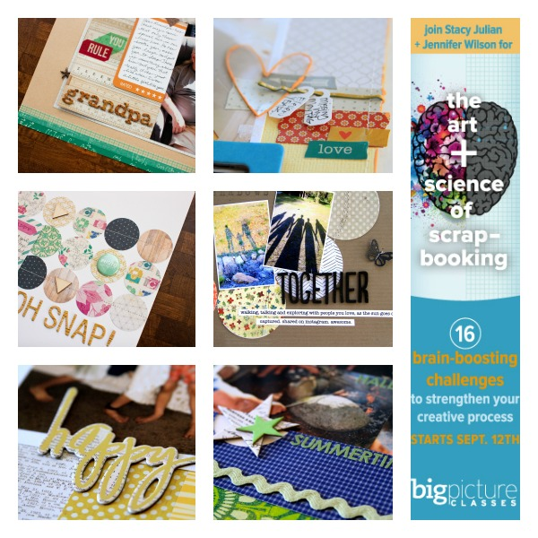 The Art + Science of Scrapbooking | Kimberly Kalil Designs