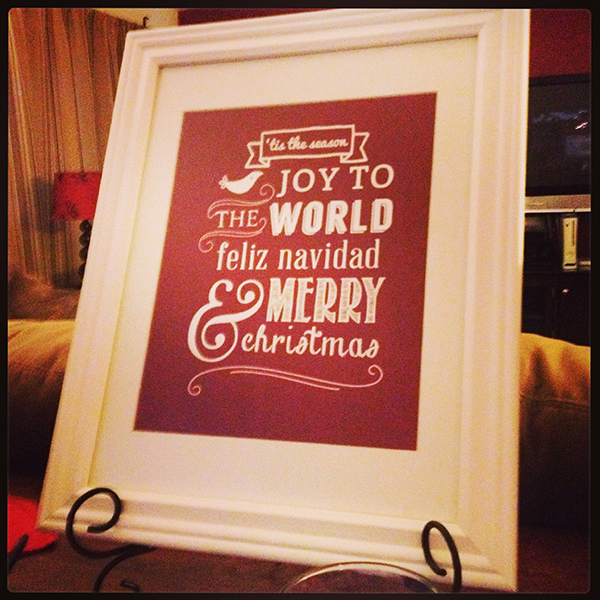 KKD Christmas Printable Merry Merry Christmas