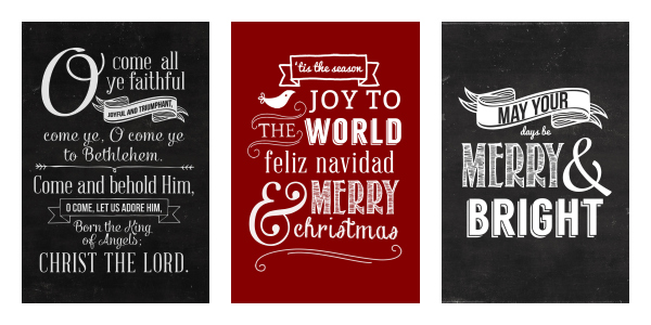 Kimberly Kalil Christmas Printables