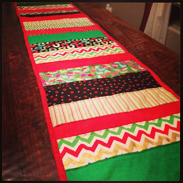 Kimberly Kalil Finished Table Runner