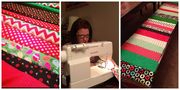 Kimberly Kalil Designs: Sewing Table Runner