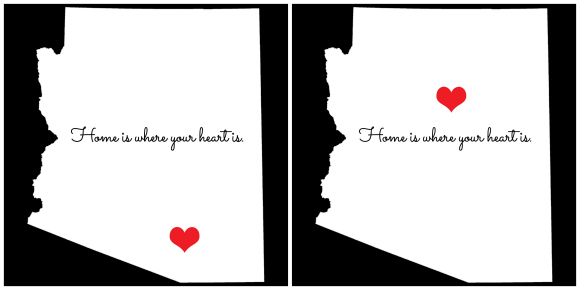 Kimberly Kalil Designs: Home Is Where You Heart Is print