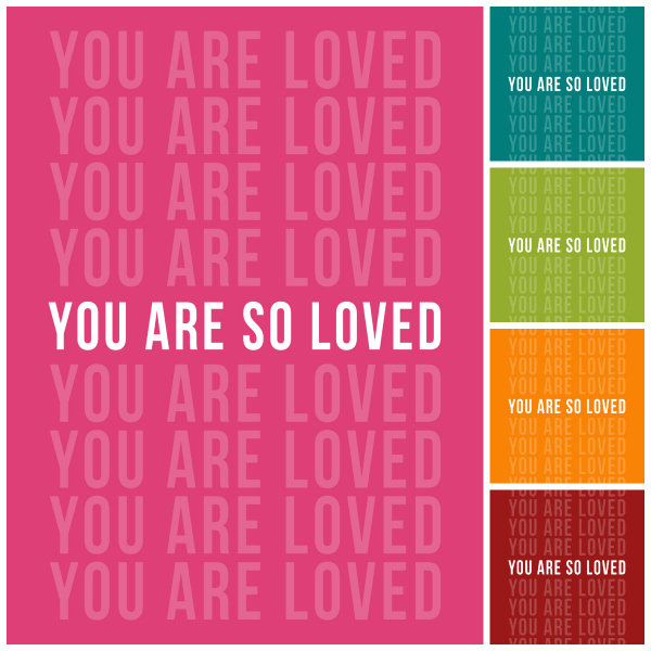 Etsy |You Are So Loved Note Cards | Kimberly Kalil Designs