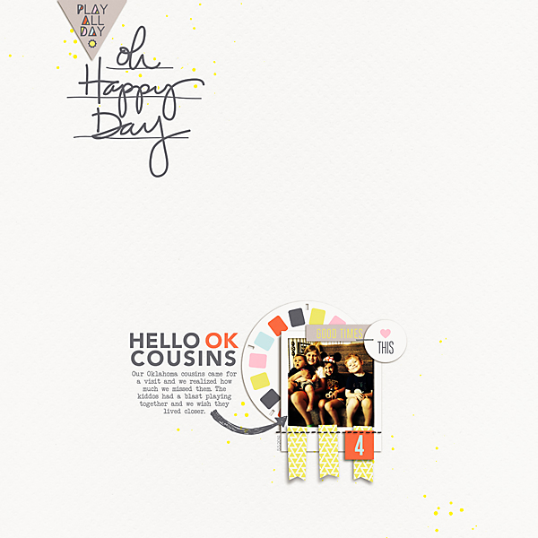 Hello OK Cousins | The Daily Digi | Kimberly Kalil Designs