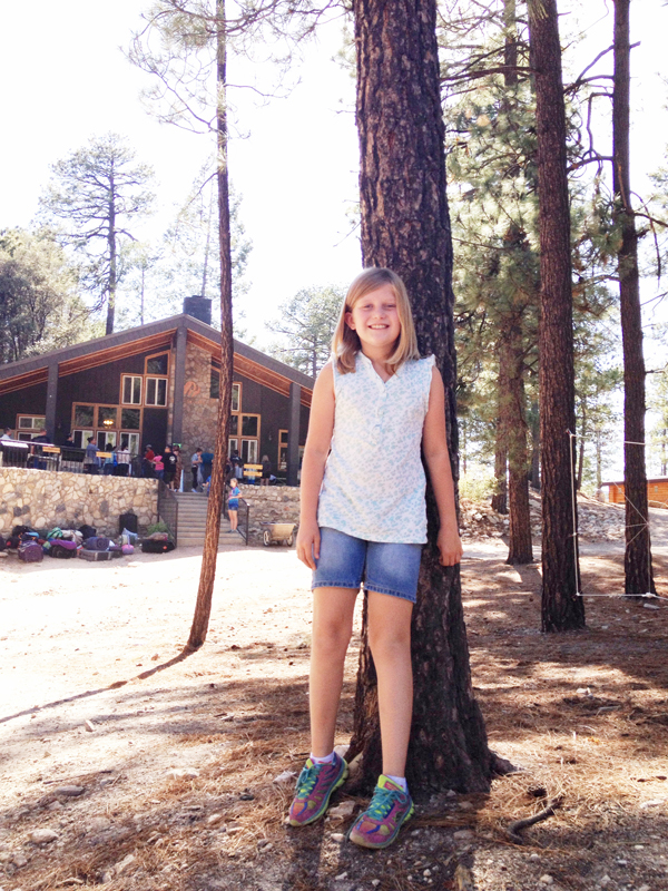 Shelby Goes to Camp| Kimberly Kalil Designs
