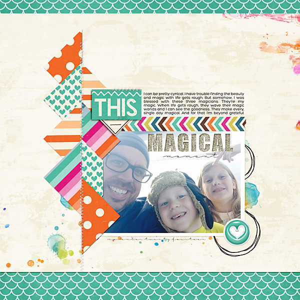 This Magical Moment | Simple Scrapper | Kimberly Kalil Designs