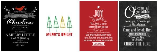 Christmas Printables | Kimberly Kalil Designs