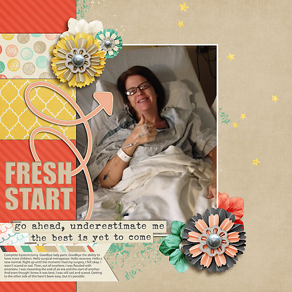 Fresh Start | Simple Scrapper | Kimberly Kalil Designs