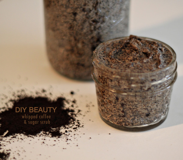 DIY Beauty| Whipped Coffe + Sugar Scrub | Kimberly Kalil Designs