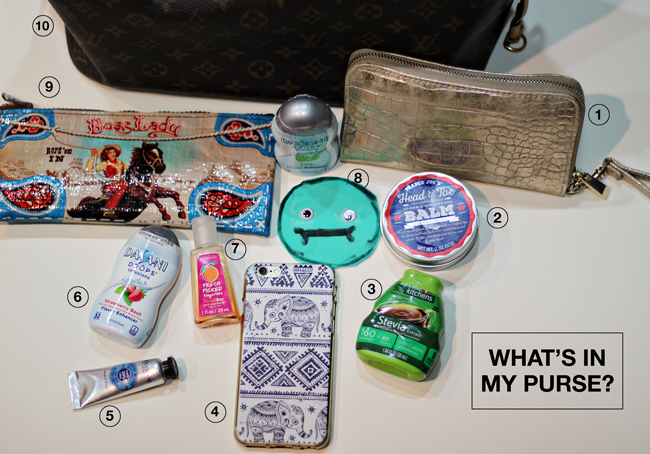 What's in my Purse |  Dasani Drops | Kimberly Kalil Creative