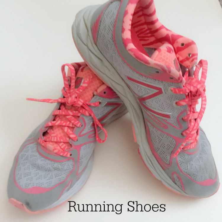 Running Shoes | Exercise and Fitness Tools| Kimberly Kalil Creative