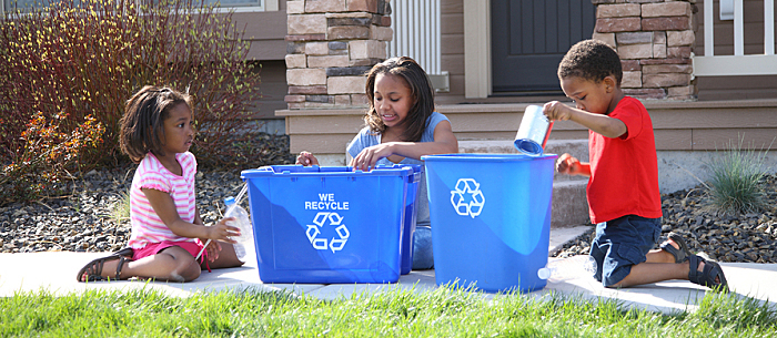 Recycling for Kids | Care.com | Kimberly Kalil Creative