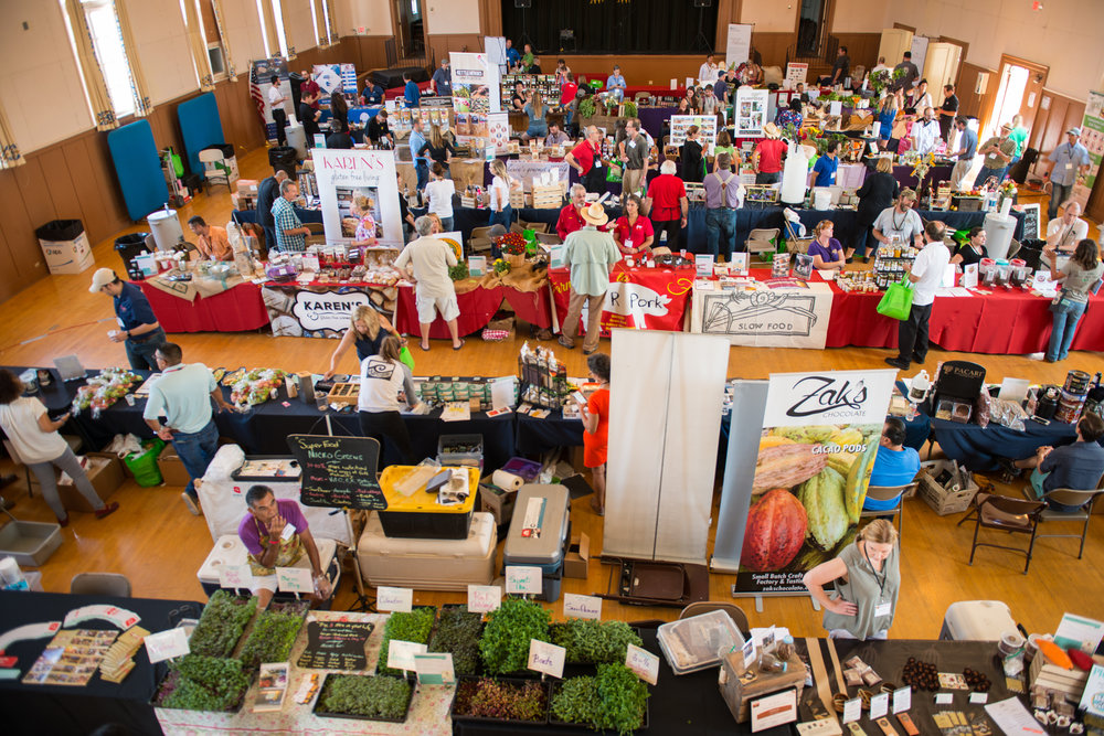 Good Food Expo - Formerly known as the Farmer+Chef Connection, this annual food show features exclusively Arizona-grown and produced foods and beverages. Chefs, restaurateurs, and all wholesale buyers are invited to connect with our homegrown producers. Held every Fall.