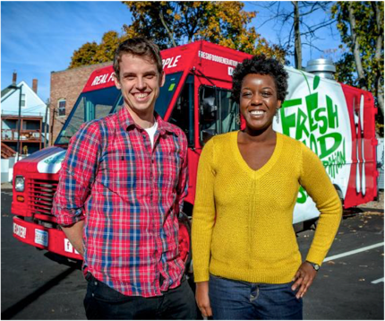 Fresh Food Generation hits the town with their Food Truck.