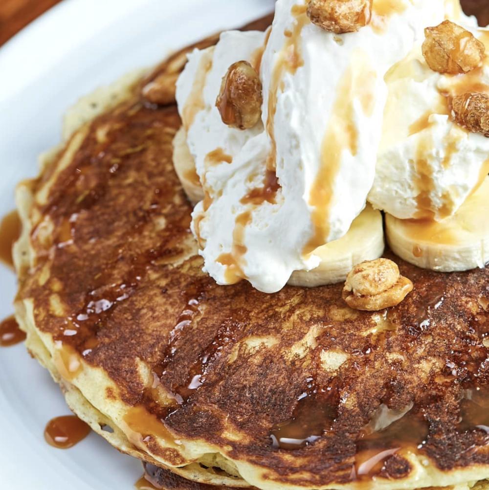 Otro Cafe's famous pancakes