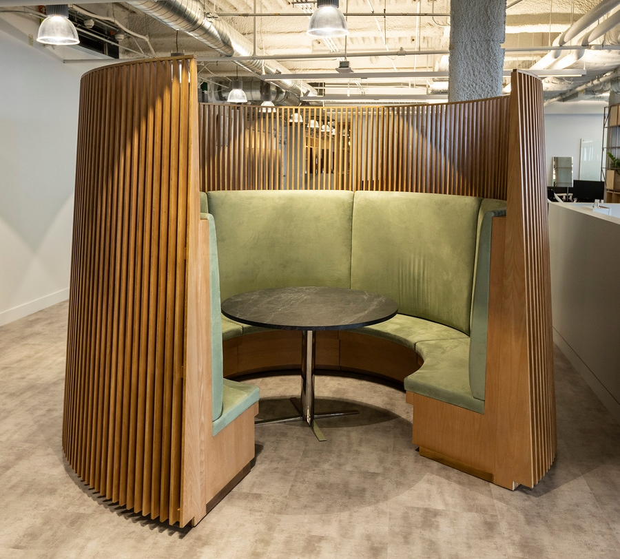 CPM Installation Project - Farfetch private meeting area.