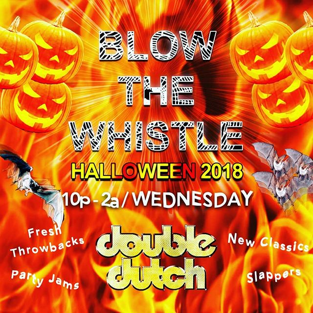 Come celebrate Halloween with dj @bk.wav and the DD crew for a spooky night. . .  #doubledutch #mission #DD #holloweencostume #holloweennight #spooky