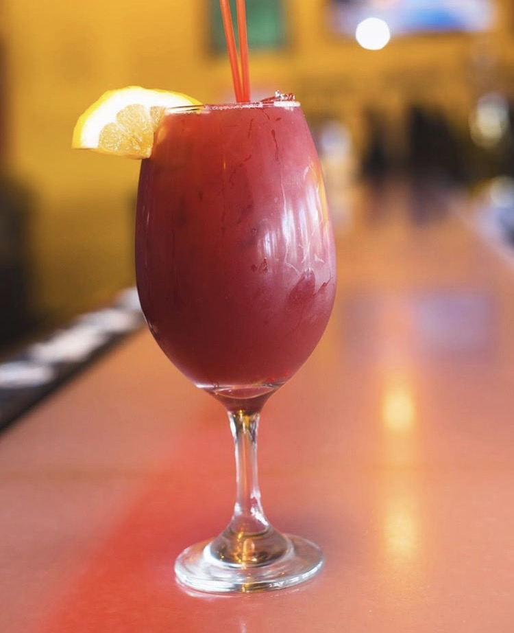 - happy hour sangria only $4.99