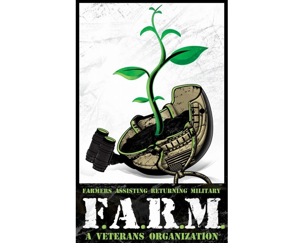 F.A.R.M. - The mission of Farmers Assisting Returning Military is to provide agricultural training, employment opportunities and alternative therapies to all Military Veterans.