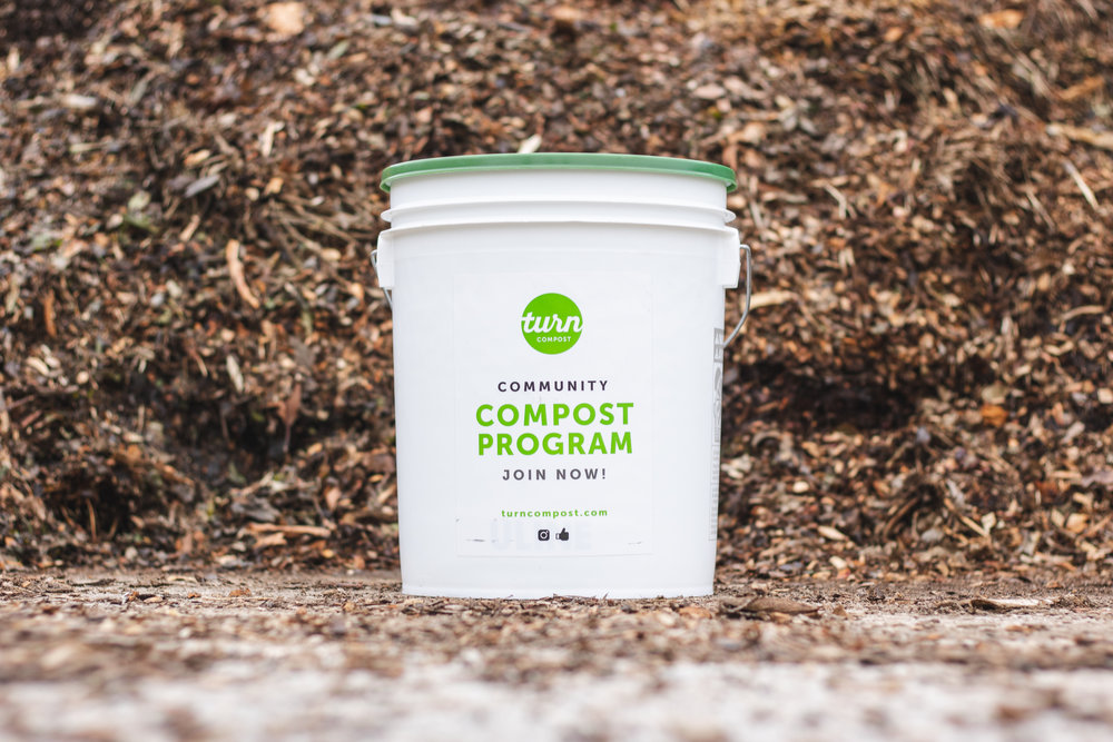 Your Compost Starter Kit Includes: - 1. A 5-gallon white branded bucket with air-tight sealing lid.2. A laminated instruction guide for your fridge, where you can easily reference a list of what can/cannot be put in your bin.3. Residential subscribers will receive a cleaned and sanitized bucket on every service day. Don't worry; We clean our buckets with environmentally friendly products only.