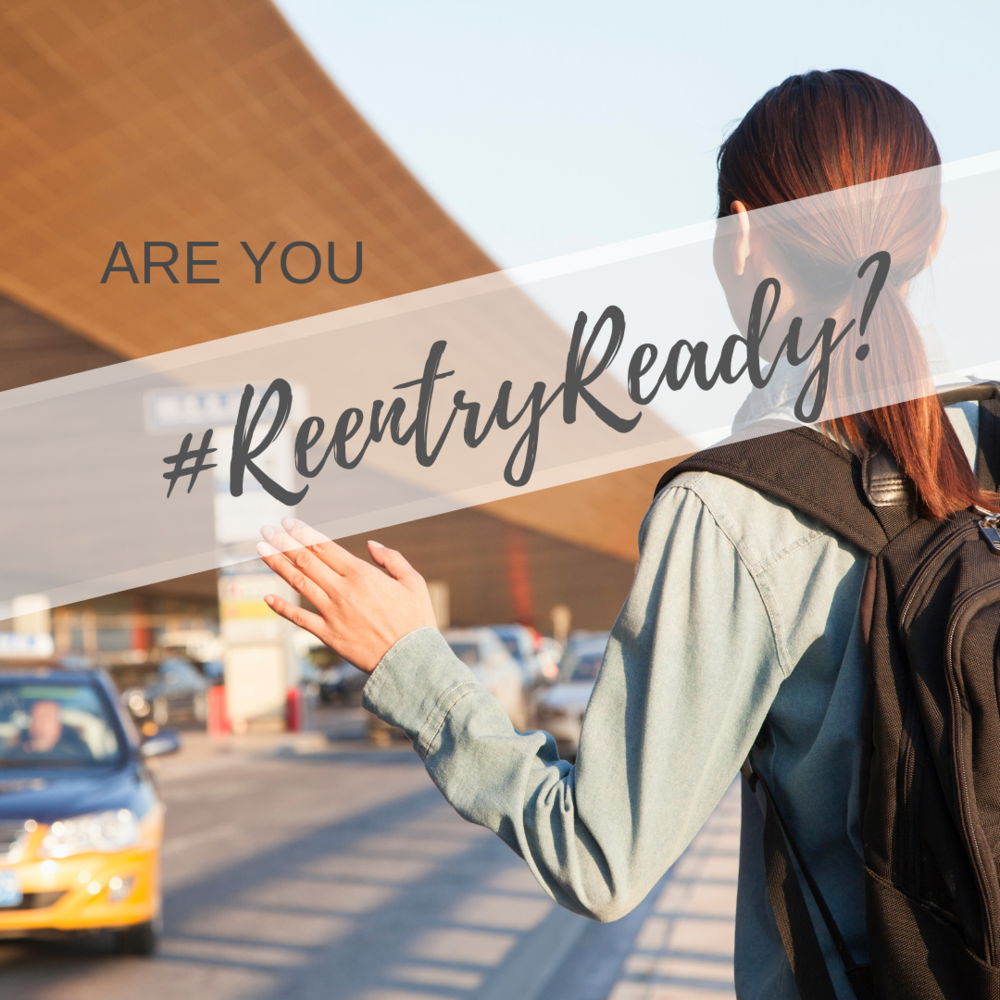 Coming Soon - Reentry Ready - Reentry Ready is a live, in-country training, designed to help sending agencies prepare their staff for reentry - months before they actually leave the field
