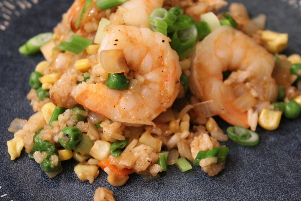 Homemade Takeout Shrimp Fried Rice The Mother Chef