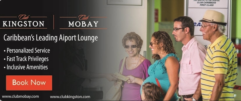 Club MoBay - Relax, munch and check your messages while you wait for your flight or transportation to your destination in Jamaica.