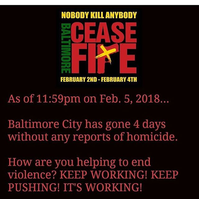 Repost from @baltimoreceasefire - baltimore is at peace, let's keep it this way #TeamBetterBaltimore #FamiliesMatter #popbaltimore