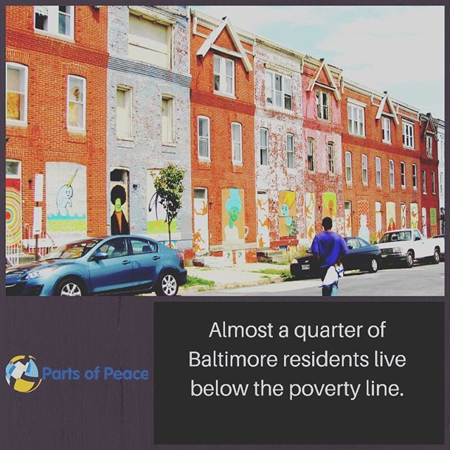 Did you know that almost a quarter of Baltimore residents live below the federal poverty line?