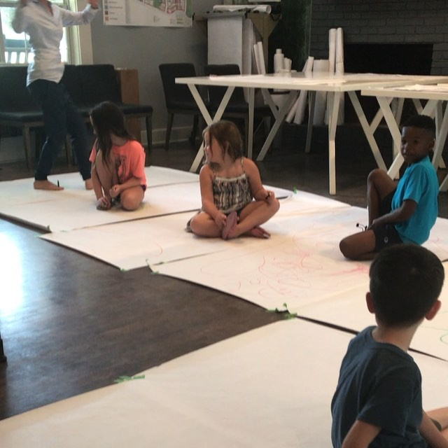 Can you draw with your toes? Can you draw on your back? Do you like to dance? Can you draw while you dance? Can you make your crayons make sounds?  Some of the questions a few of our learners were asked yesterday.