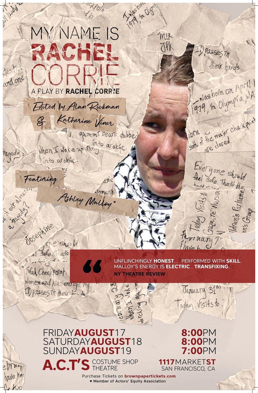 Rachel Corrie SF