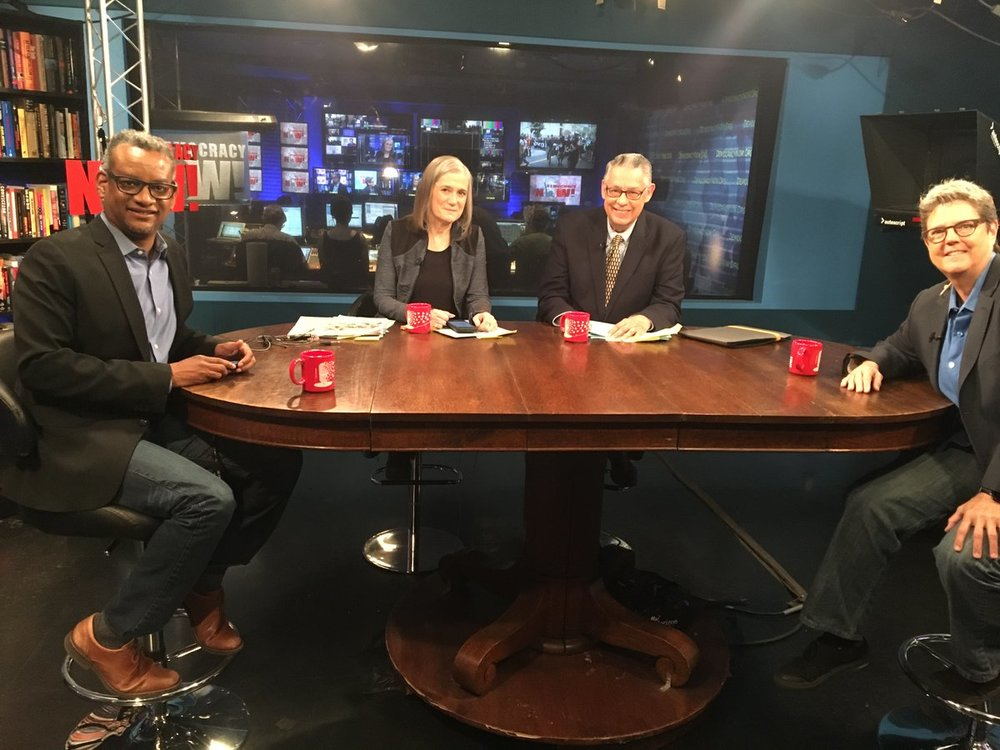 Vince Warren and Katherine Franke on Democracy Now!