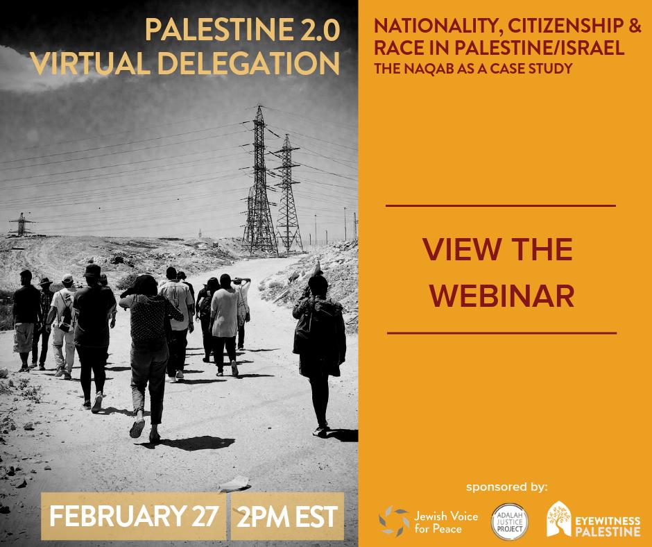 Virtual Delegation Palestine 2.0 Watch the Webinar(2.27.19).png