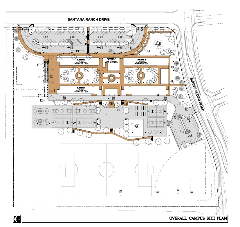 Overall Campus Site Plan