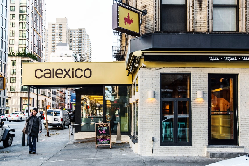 Calexico    1491 2nd Ave. New York, NY 10075