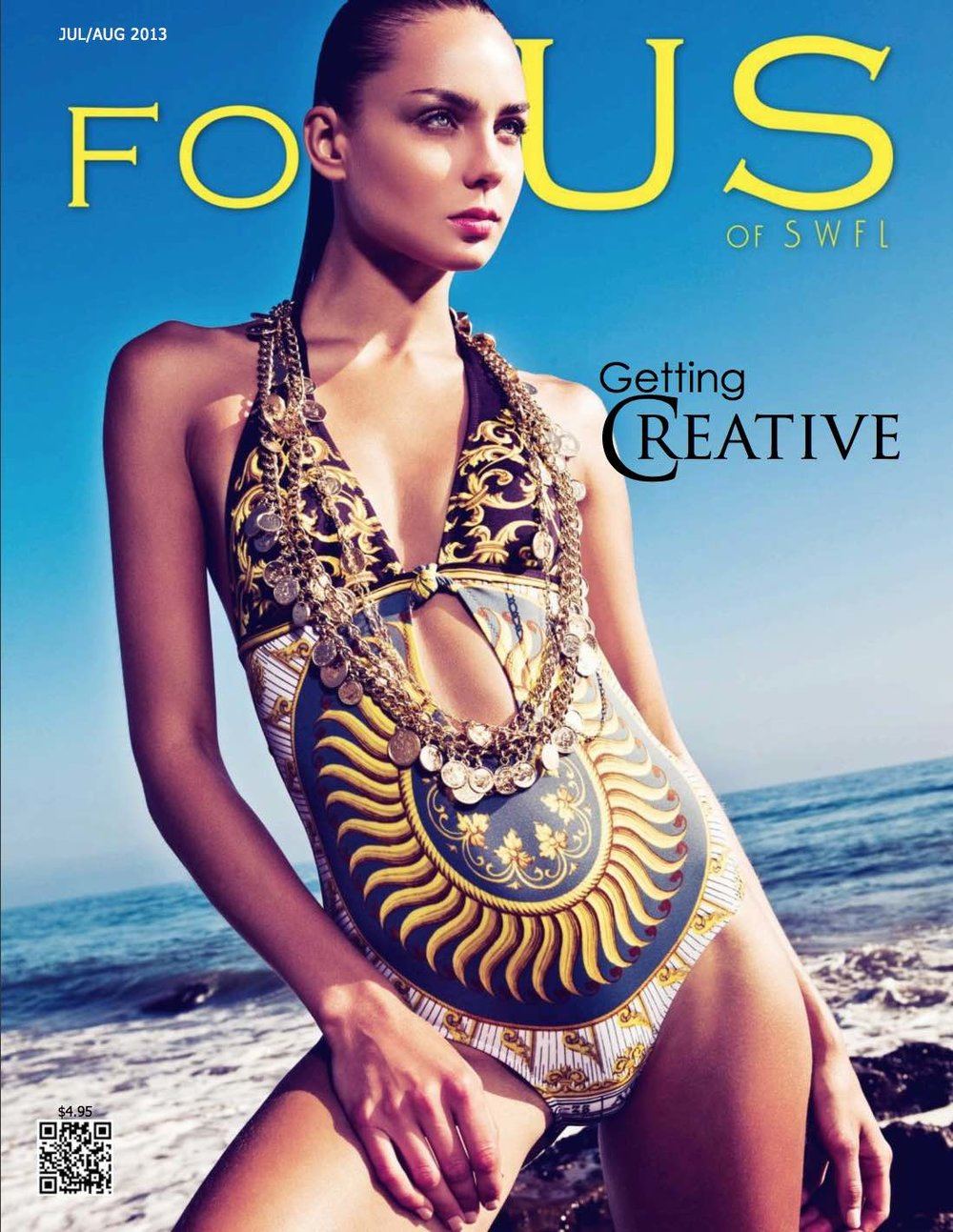 Focus of SWFL - Getting Creative   Published on Jun 30, 2013  A muse of everything inspired and unexpected, this issue is about the many ways people show the world their inspirational intellect. A visual journey of extraordinary and artistic personalities; from areas in entertainment, business, art, fashion, design and more. Chuck full of engaging details with informative niceties about finance, home, cooking and your lifestyle. Click to see the feature on Ms. Indrea Gordon.