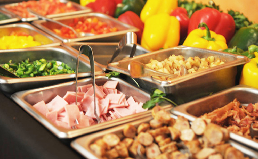 Sunday Brunch Buffet - 8 am - 3 pm