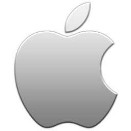 Apple logo icon - Aluminum.png