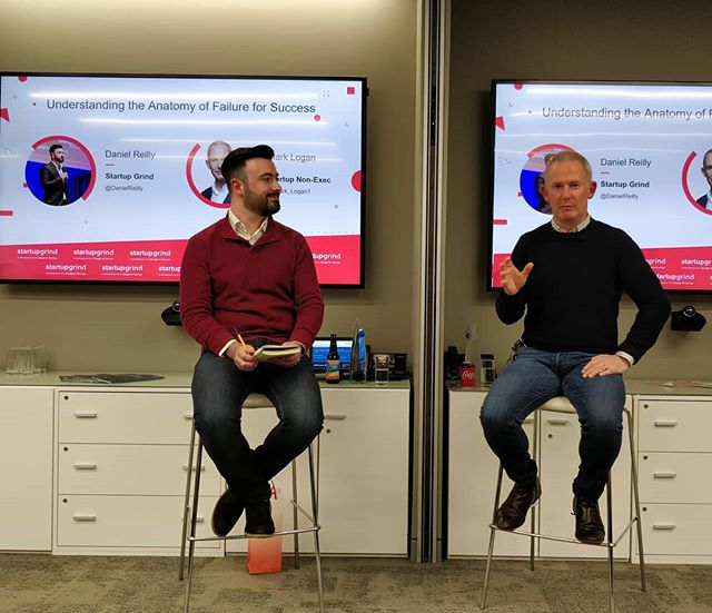Loved learning about the anatomy of startup success & failure from the one and only Mark Logan, former COO of Skyscanner - Scotland's first unicorn - at Startup Grind Glasgow! @startupgrindgla @danielreilly29 @startup #startup #success #failure #unicorn #Skyscanner #StartupGrind #entrepreneurship