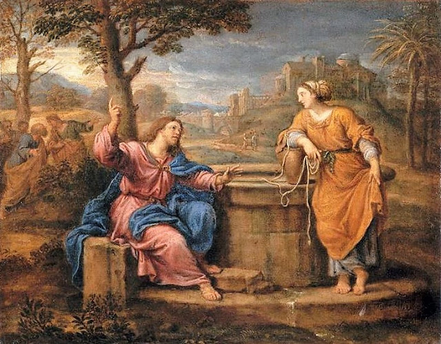 Pierre Mignard,  Christ and the Woman at the Well , 1690