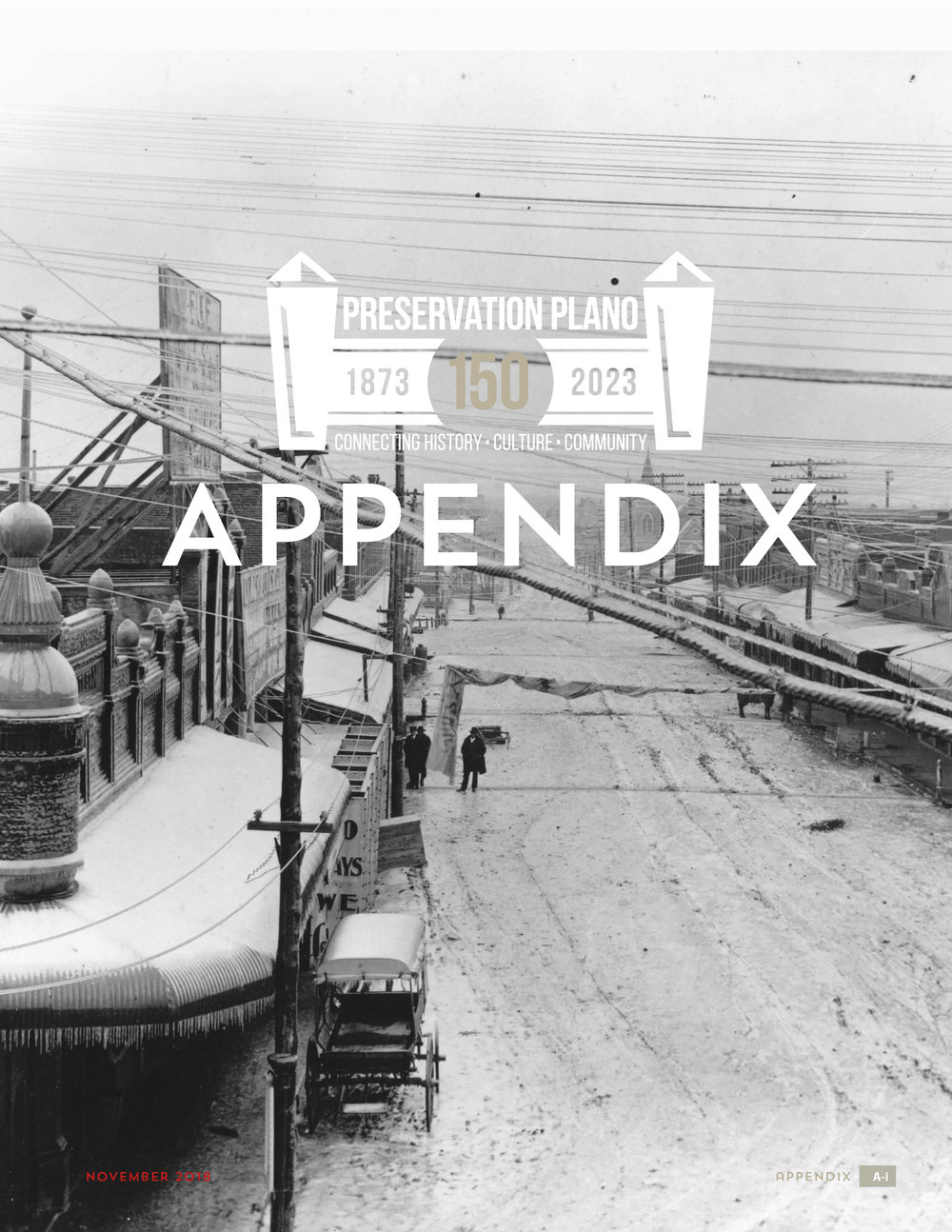 Appendix - Cover & Table of Contents