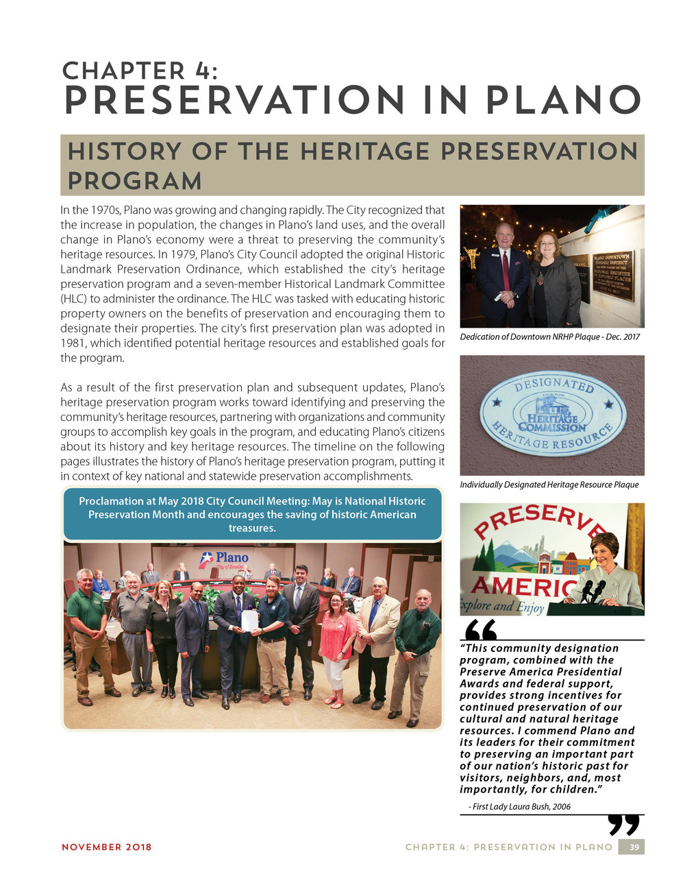 04 - Preservation in Plano
