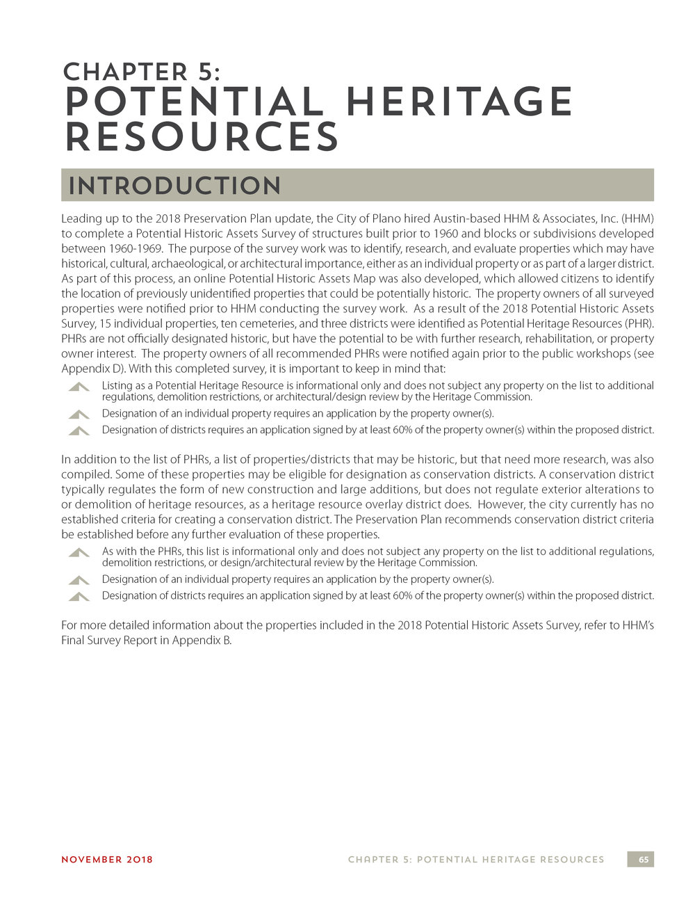 05 - Potential Heritage Resources