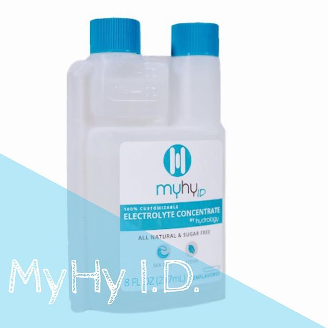 💧MyHy I.D. 💧 the first customizable electrolyte replacement that can easily tag along to the gym in this 8oz bottle! Blend MyHy I.D. into any sports drink to accommodate your hydration needs, both as an athlete & throughout day-to-day activities. Stay hydrated! #drinkmyhy #myhyid #electrolytereplacement #electrolytes #athletes #hydrated #lifestyle