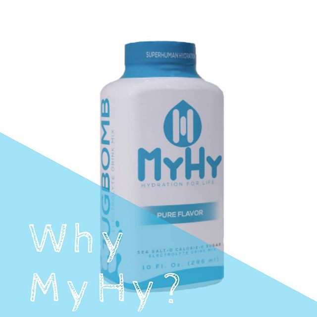 💧The MyHy #jugbomb is an ultra concentrated electrolyte drink mix that has been specifically designed to make bulk amounts of MyHy in your team's water jug! Interested in trying MyHy for an upcoming competition or game? Contact us directly for details!    📩 matt@drinkmyhy.com