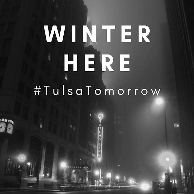 . WINTER HERE #tulsatomorrow  www.tulsatomorrow.com 📸@andrew_of_nichols . . #movehere #livehere #visithere #aliyah #tulsa #israel #jewishcity #jewish #jewishyoungprofessionals #teachforamerica #skyline #littlebigcity #oneofeverything #moretolove #affordableliving #bigfishsmallpond #opportunity #greatestcity #walkable #bicyclefriendly #qualityoflife #romanticgetaway #remotetulsa #bethechange #nextstep #visitoklahoma #hillel #chabbad